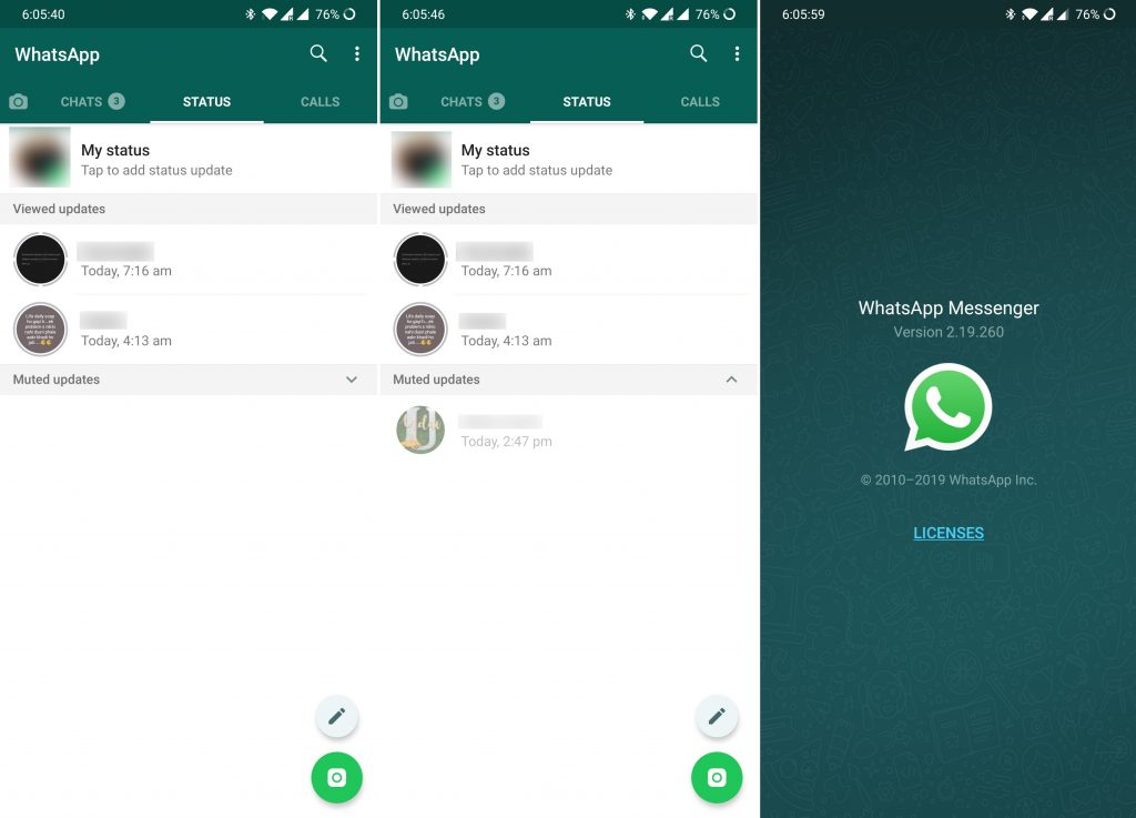 You Can Now Hide Muted Status Updates On Whatsapp
